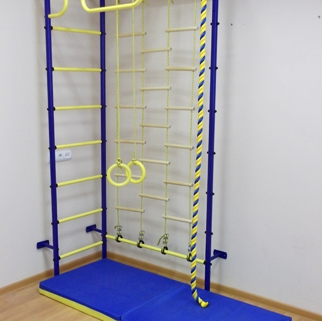 Шведские стенки. Детские спорткомплексы для дома.