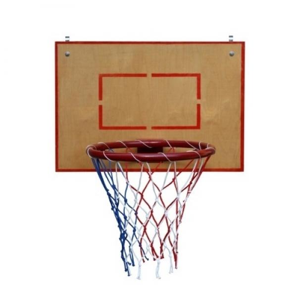 Баскетбольное кольцо малое с щитом из влагостойкой фанеры