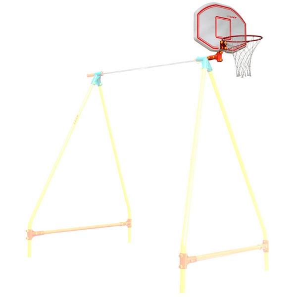 Щит с кольцом баскетбольный малый