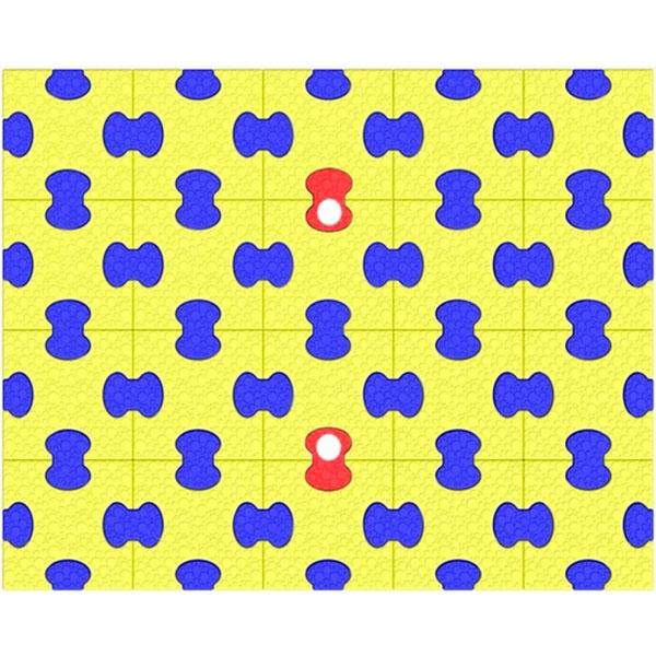 Пазловый коврик под ДСК Leco-IT 1 х 1,25 м