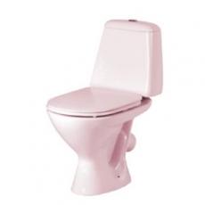 Розовый унитаз Керамин Стиль