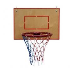 Баскетбольное кольцо большое с щитом из фанеры